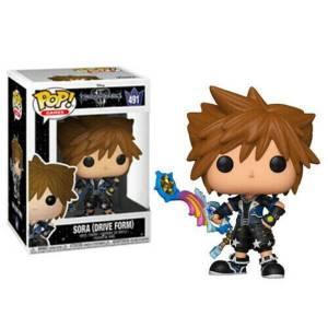 Disney Kingdom Hearts 3 Sora (Drive Form) EXC Funko Pop! Vinyl