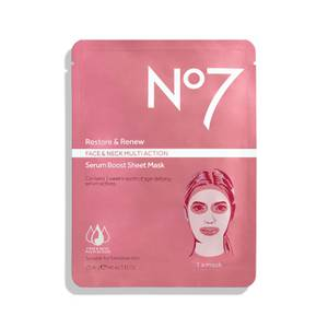 No7 Restore and Renew Sheet Mask 0.82oz