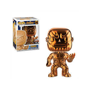 Marvel Thanos Orange Chrome EXC Funko Pop! Vinyl