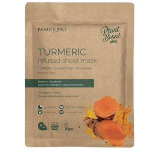 BeautyPro Turmeric Brightening Sheet Mask 22ml