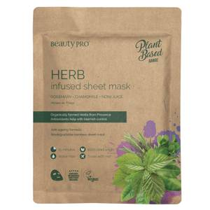 BeautyPro Herb Rebalancing Sheet Mask 22ml