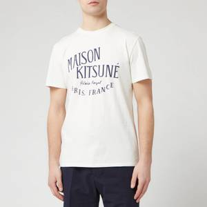Maison Kitsuné Men's Palais Royal Classic T-Shirt - Latte