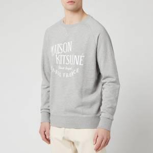 Maison Kitsuné Men's Palais Royal Sweatshirt - Grey Melange