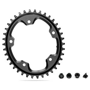 AbsoluteBLACK Shimano 5 Bolt Oval CX Chainring