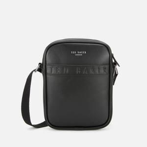 Ted Baker Men's Debossed Flyer Flight Bag - Black