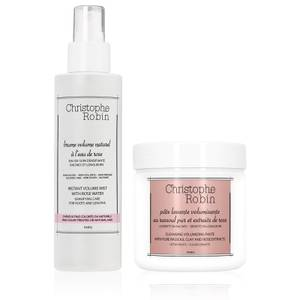 Christophe Robin Cleansing Volumizing Paste and Instant Volumizing Mist (Worth £71.50)