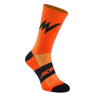 Morvelo Series Emblem Orange Socks