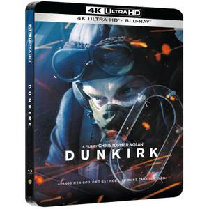 Dunkirk - 4K Ultra HD Zavvi UK Exclusive Steelbook (Includes Blu-ray)