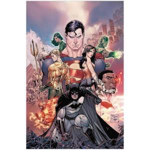 DC Comics - Justice League Rebirth Dlx Coll Hard Cover