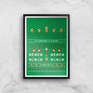 Nintendo It's Dangerous To Go Alone Art Print