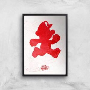 Nintendo Lets A Go Go Art Print