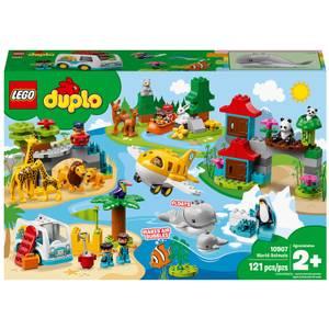 LEGO® DUPLO®: Les animaux du monde (10907)