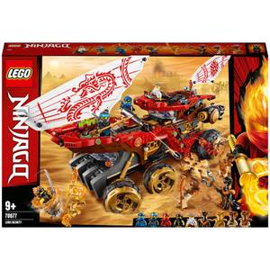 LEGO NINJAGO: Land Bounty Toy Truck Ninja Car for Kids (70677)