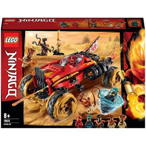 LEGO NINJAGO: Katana 4x4 Vehicle Toy with 5 Minifigures: (70675)