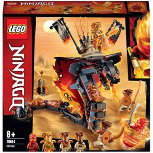 LEGO NINJAGO: Fire Fang Snake Toy for Kids (70674)