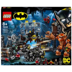 LEGO DC Batman Batcave Clayface Invasion Building Toys (76122)