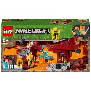 LEGO Minecraft: The Blaze Bridge Building Set (21154)