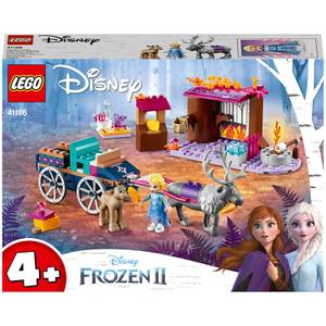 LEGO Disney Frozen II: Elsa's Wagon Adventure Toy (41166)