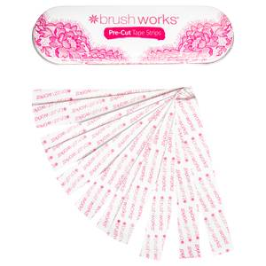 brushworks Pre Cut Dress Tape Strips
