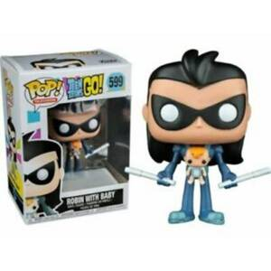 Teen Titans Go! Robin as Nightwing with Baby EXC Pop! Vinyl Figure