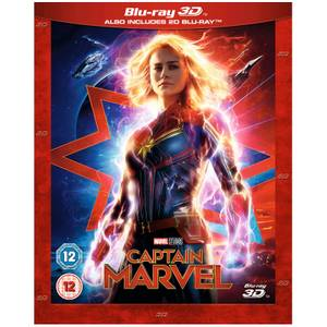Captain Marvel - 3D (Includes Blu-ray)