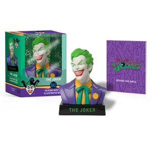 Joker Talking Bust and Illustrated Book MiniKit