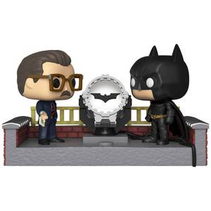 DC Comics - Batman mit Bat-Signal Pop! Movie Moment