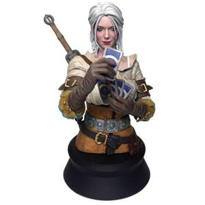 Dark Horse The Witcher 3: Wild Hunt Ciri Playing Gwent Bust