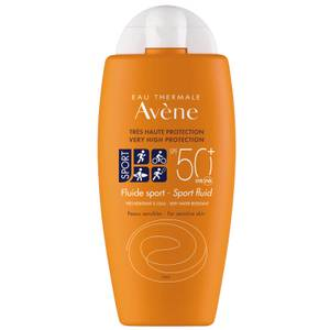 Avène Very High Protection Sports Fluid SPF50+ Sun Cream for Sensitive Skin 100ml
