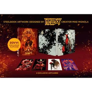 Exclusivité Zavvi: Hellboy 4K Ultra HD (Blu-ray 2D inclus) - Steelbook Édition Limitée