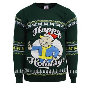 Fallout Happy Holidays Knitted Christmas Sweater