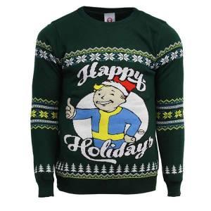 Maglione Natalizio Fallout Happy Holidays