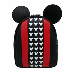 Loungefly Disney Mickey Applique And Debossed Detail Mini Backpack
