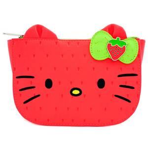 Loungefly Sanrio Portefeuille Fraise Hello Kitty
