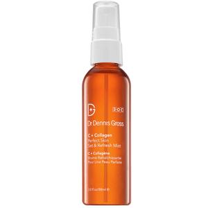 Dr Dennis Gross Skincare C+Collagen Perfect Skin Set and Refresh Mist 3oz