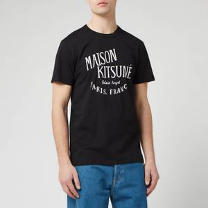 Maison Kitsuné Men's Palais Royal Classic T-Shirt - Black