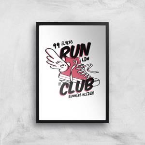 RUN CLUB 99 Art Print