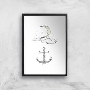 Anchor Your Dreams Art Print