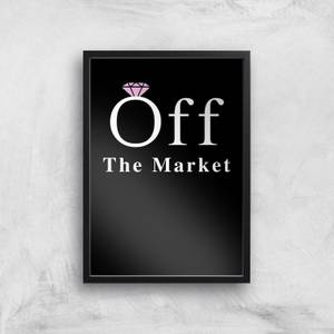 Off The Market Art Print