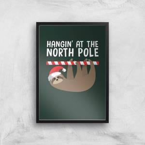 Hangin' At The North Pole Art Print