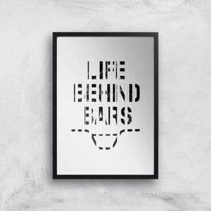 Life Behind Bars Art Print
