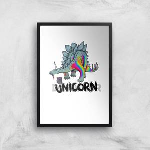 DinoUnicorn Art Print