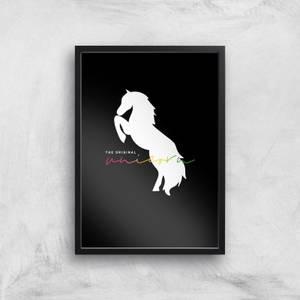 The Original Unicorn Art Print