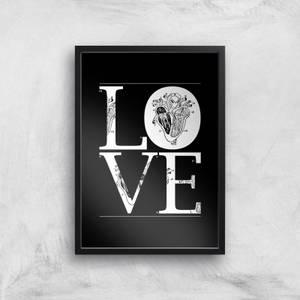 Anatomic Love Art Print