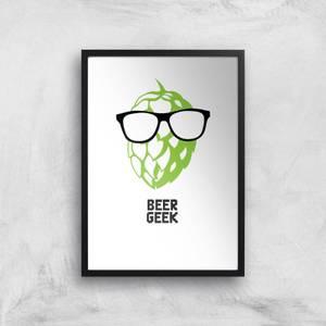 Beer Geek Art Print
