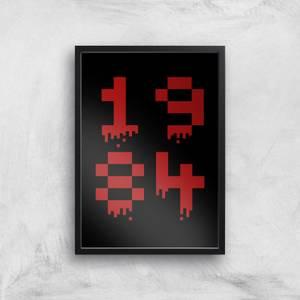 1984 Gaming Art Print