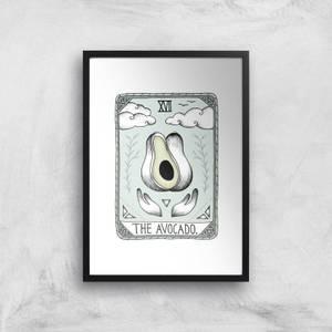 The Avocado Art Print