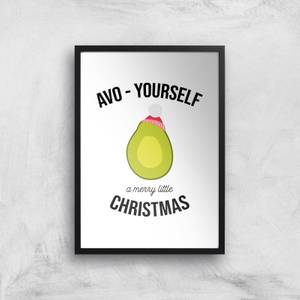 Avo-Yourself A Merry Little Christmas Art Print