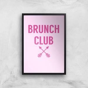 Brunch Club Art Print