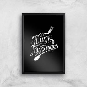 The Hungry Hungarians Art Print
